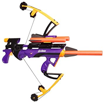 Nerf Marvel The Avengers Hawkeye Foam Arrow Battle Bow Gun 35 foot range