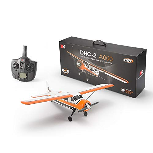 Choosebuy 3D6G Remote Control Airplane, A600 2.4G Cool RC Radio Aircraft Drone Airplane Toys for Indoors/Outdoors Flight Toys, Built in 3-axis 6-axis Gyroscope Mode Conversion Super Easy to Fly (A) by Choosebuy (Image #1)