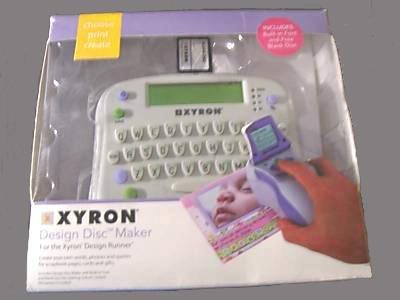(Xyron Design Disc Maker)