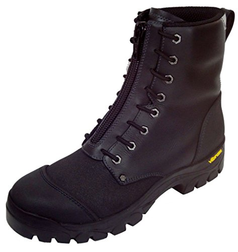 Black Diamond Fire Boots - Twisted X Men's Fire-Resistant Waterproof Lace-Up Work Boot Steel Toe Black 12 D(M) US
