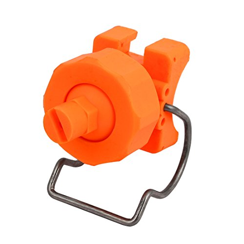 uxcell CT6515 PP Adjustable Ball Clip Flat Fan Clamp Mist Spray Nozzle for 32-35mm Pipe Dia ()