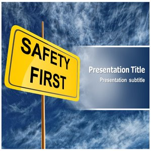 amazon com safety powerpoint template powerpoint template for