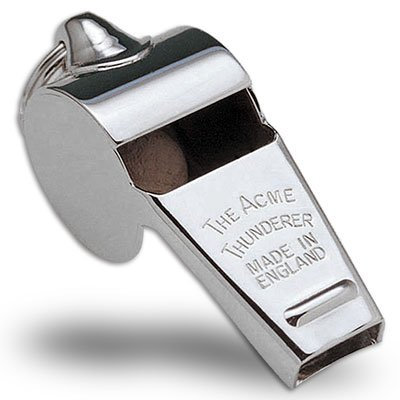 nickel plated whistle - 9