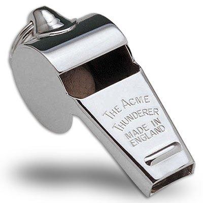 Acme Thunder Nickel-Plated (Medium Size) Whistle Model 59.5