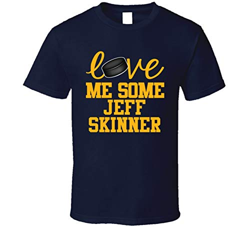 Jeff Skinner Love Me Some Buffalo Hockey Fan T Shirt M Navy