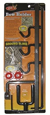 Hme Products Ground Blind Bow Holder, Olive