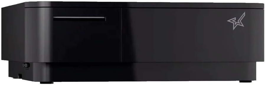 T/érmica directa, 100 mm//s, 5,8 cm, Negro, 308 mm, 300 mm Impresora de etiquetas Star Micronics 39650291