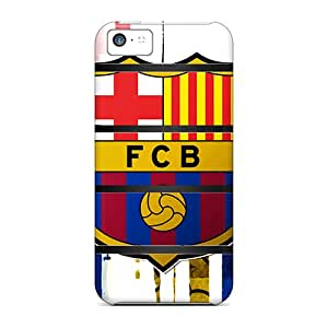 Durable Case For The Iphone 5c- Eco-friendly Retail Packaging(barca Shelf)
