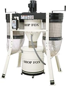 12. Shop Fox W1816 3 Horsepower Cyclone Dust Collector