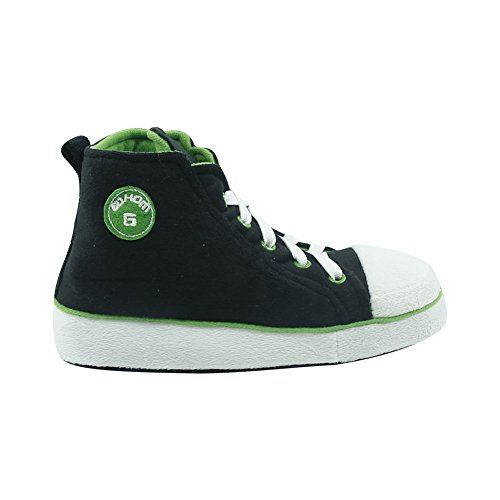 Slipper Warm House Gohom Boots amp;green Winter Women's Indoor Black 6wx55ITPq