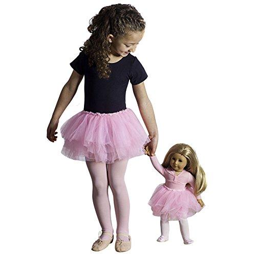 Girls Pink Tutu & 18