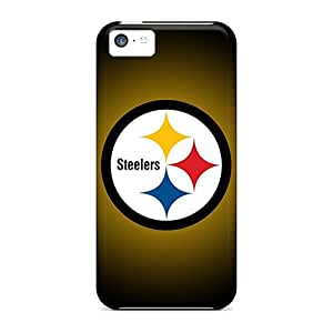 5c Scratch-proof Protection Cases Covers For Iphone/ Hot Pittsburgh Steelers Phone Cases