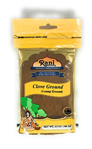 (Rani Cloves Powder (Laung) Indian Spice 3.5oz (100g) ~ All Natural, Gluten Free Ingredients | NON-GMO | Vegan | Indian Origin)