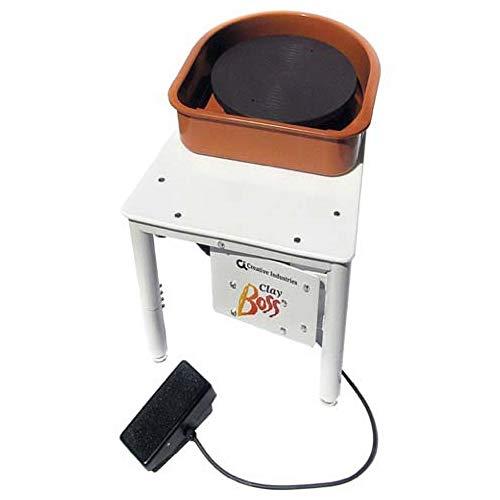 Speedball Clay Boss Pottery Wheel, 14 inch Wheel Head, 100 lb. Centering Capacity (BOSS)
