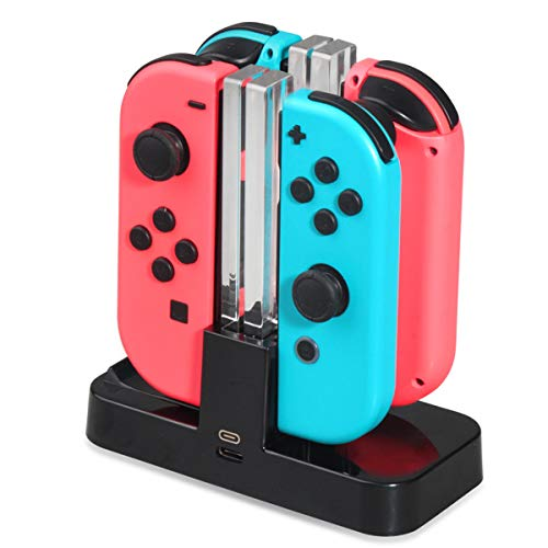 - Portable Charging Dock Charger Apdater for Switch Joy-Con/Pro Controller - Nintendo Video Games Accessories Nintendo Switch - 1x Charging Dock for N-Switch