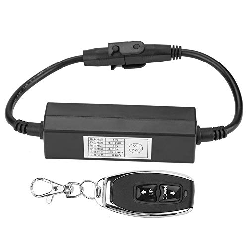 Wireless Remote Control, 12V DC Motor Linear Actuator Wireless Remote Control DPDT Switch Forward Reverse