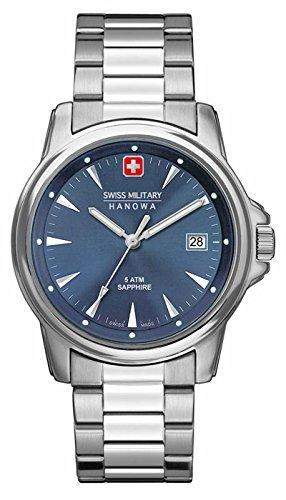 Swiss Military Hanowa Men's 06-5230-04-003 Silver Stainless-Steel Swiss Quartz Watch