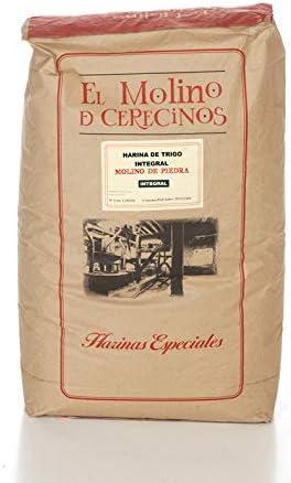 """Harina de Trigo Integral """"MOLINO DE PIEDRA"""" 25 kg: Amazon.es ..."""