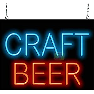 Jantec Sign Group Craft Beer Neon Sign