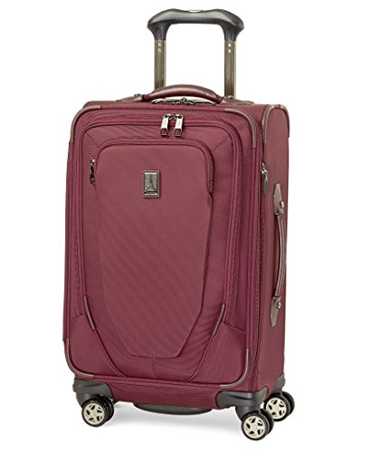 Travelpro Crew 10 International Carry-On Spinner, Merlot, One Size