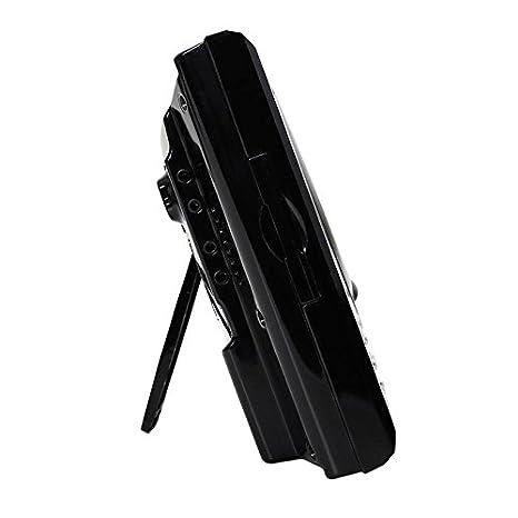 Auna MC-120 New Black Edition /• Equipo de m/úsica est/éreo /• Radio FM /• Reproductor CD /• MP3 /• AUX /• USB /• Despertador /• Pantalla LCD /• Memoria 20 emisoras /• Mando a Distancia /• Negro