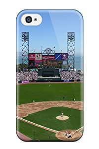 High Grade DanRobertse Flexible Tpu Case For Iphone 4/4s - San Francisco Giants