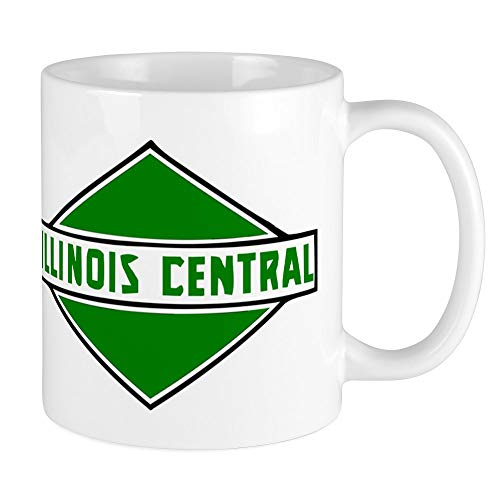 CafePress Illinois Central Railroad Logo Mugs Unique Coffee Mug, Coffee Cup