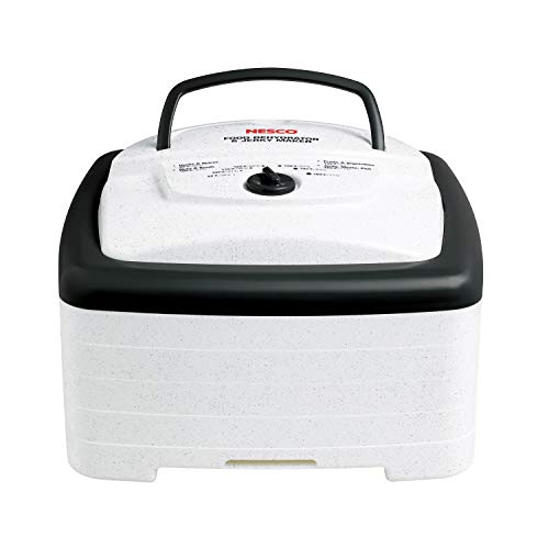 Nesco FD-80A Food and Jerky dehydrator, White