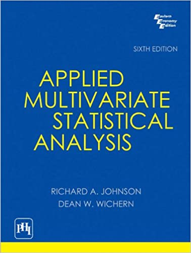 Free] download pdf applied multivariate statistical analysis full pa….