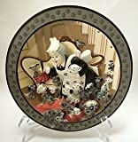 The Disney Store 101 Dalmatians 3D Dimensional Plate-Look Puppies Everywhere