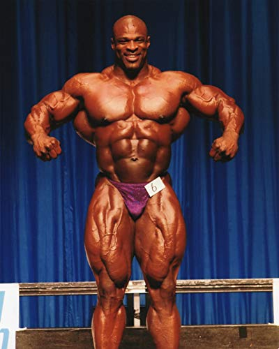RONNIE COLEMAN BODY BUILDING MR. OLYMPIA 8X10 SPORTS ACTION PHOTO (QQ)