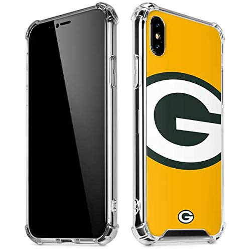 84c16071 Amazon.com: Skinit Green Bay Packers Large Logo iPhone X/XS Clear ...