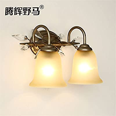 DengWu Wall Sconce Retro American wall neo-classical bedroom bed ...