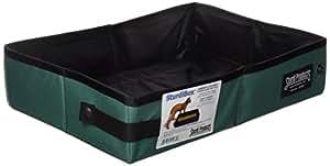 Sturdi Products Foldable Water Tight Box, 2-Gallon, Black