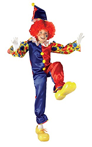 It Scary Clown Costumes (Rubies Bubbles The Clown Child Costume, Small)