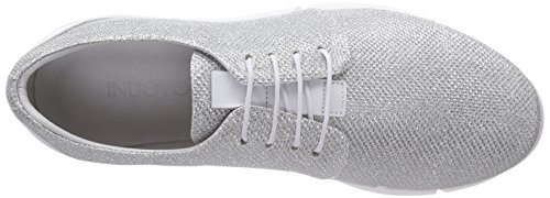 Donne bianco top 6068 argento Inuovo Scarpe A Silber Argento Basso Ginnastica Delle Da OEwxqx4F
