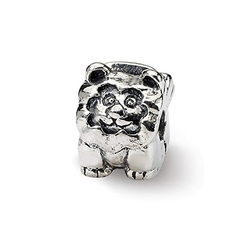 Jewelry Beads Kids Bead Line Sterling Silver Reflections Kids Lion Clip Bead