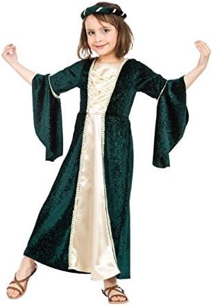 Chaks C4134140, disfraz de princesa medieval de 6 a 12 años, color ...