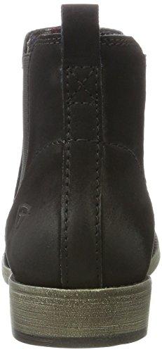 Tamaris Damen 25071 Chelsea Boots Schwarz (Black)