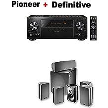 Pioneer VSX-LX103 Elite 7.2 Channel A/V Receiver + Definitive Technology ProCinema 600 5.1 Home Theater Speaker System Bundle