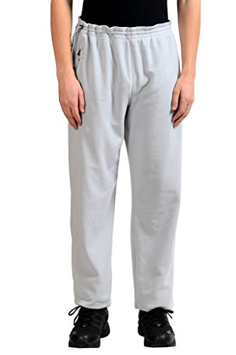 "Used, Zegna ""Sport"" Men's Gray Fleece Track Sweat Pants US for sale  Delivered anywhere in USA"