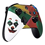 eXtremeRate-New-Joker-2019-Patterned-Front-Housing-Shell-Case-Soft-Touch-Faceplate-Cover-Replacement-Kit-for-Xbox-One-S-One-X-Controller-Model-1708