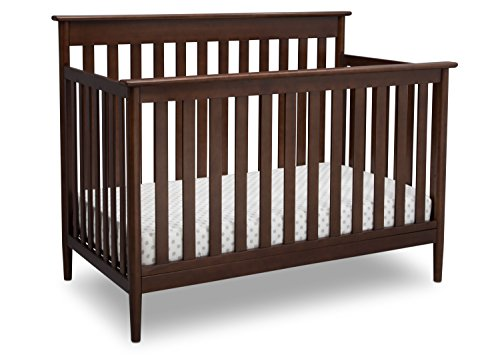 - Delta Children Greyson Signature 4-in-1 Convertible Baby Crib, Walnut