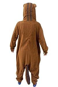 Lifeye Unisex Squirrel Pajamas Animal Cosplay Costume