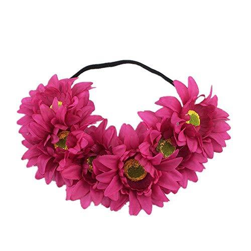 UOKNICE Halloween 1PC Headband Yak Horn Hair Tiara Headband Hair Hoop Headdress -