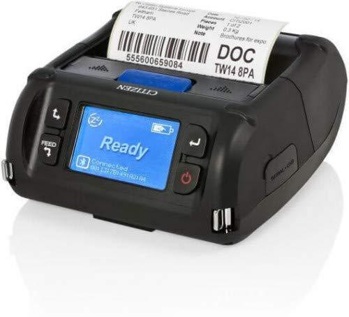 Citizen CMP-40L, BT (iOS/MFi), Serial/USB, CPCL/ESC, CMP40BECXL (Serial/USB, CPCL/ESC incl.: PSU, Battery, Belt Clip, Charger, Sample roll, CD-ROM, Fast Start Guide)