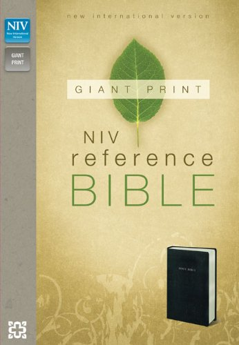 NIV, Reference Bible, Giant Print, Imitation Leather, Black ebook