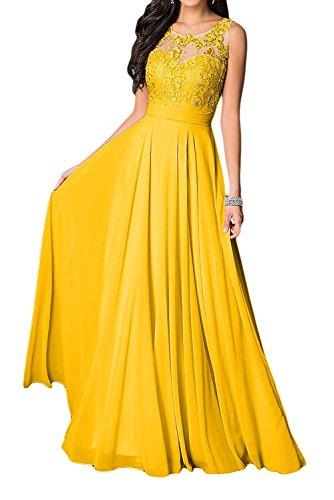 Braut Spitze La Gelb Fuchsia Damen Abendkleider mit Brautmutter Langes U Jugendweihe Marie Kleider Kleider Ausschnitt 5qSqrOx