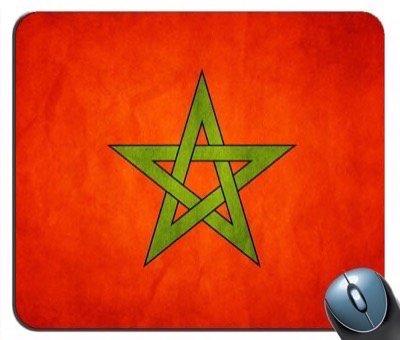 Marocco Flag Mouse Pad