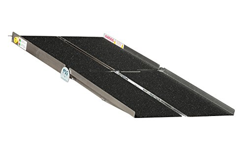 Prairie View Industries WCR830 Portable Multi-fold Ramp, 8 ft x 30 in